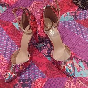 Asian Inspired Heels